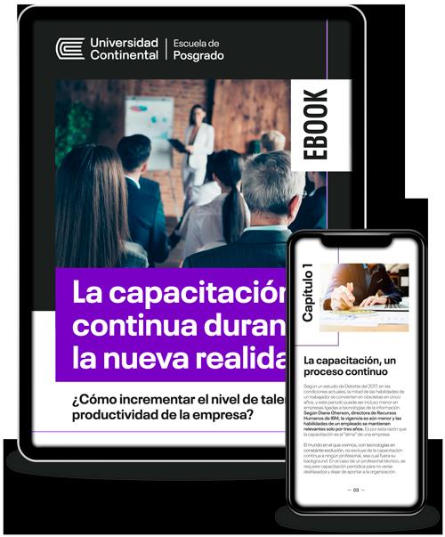 Ebook: La capacitación continua durante la nueva realidad